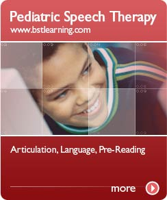 Pediatric Speech Therapy - www.bstlearning.com
